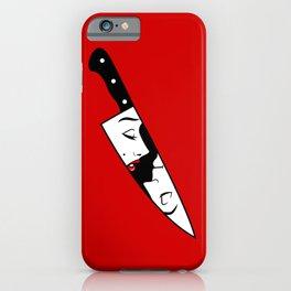 Noir Knife iPhone Case