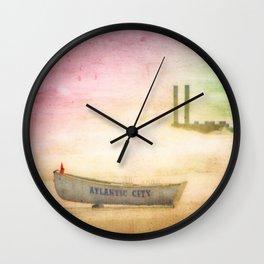 Last Summer Wall Clock