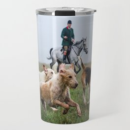 Horse and Hounds Travel Mug