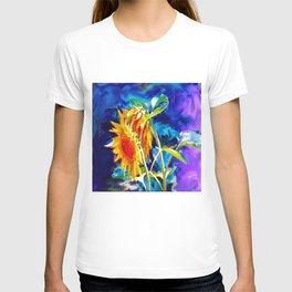 Sunflowers By Annie Zeno T-shirt