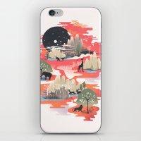 dreams iPhone & iPod Skins featuring Landscape of Dreams by dan elijah g. fajardo