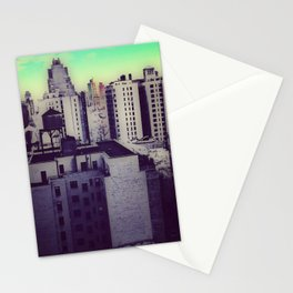 Muted Cityscape Stationery Cards