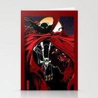 spawn Stationery Cards featuring Spawn by Shawn Norton Art