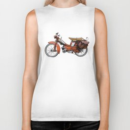 Vintage French Moped Biker Tank
