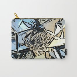 Halftones Abstract Carry-All Pouch