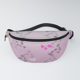 Pattern floral print Fanny Pack