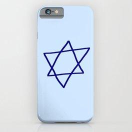 Star of David 14- Jerusalem -יְרוּשָׁלַיִם,israel,hebrew,judaism,jew,david,magen david iPhone Case