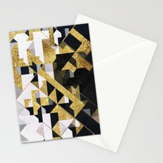 gold lyyfd Stationery Cards