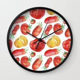 Ripe Tomato Wall Clock