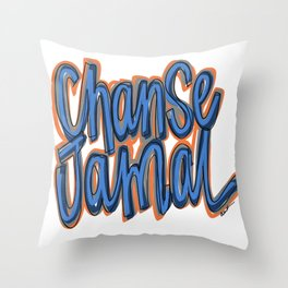 Chanse Jamal. JUBIL PRINTS Throw Pillow