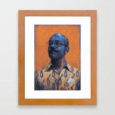 Man Inside Framed Art Print