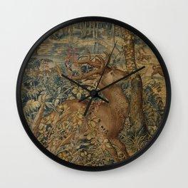 Hunt of Maximilian Wall Clock