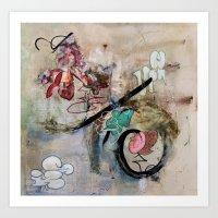 The Elitist (oil on canvas) Art Print