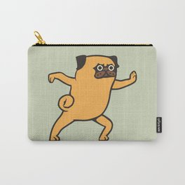 Tai Chi Pug Carry-All Pouch