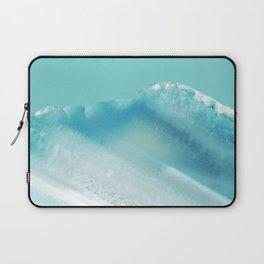 Geode Crystal Turquoise Blue Laptop Sleeve