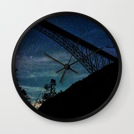 Blanket Of Stars Wall Clock