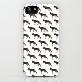 German Shepherd: Red Sable iPhone Case