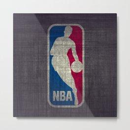 NBA Metal Print