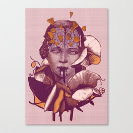 Mythical evolution Canvas Print