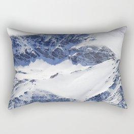 """""""Big mountains"""". Aerial photography Rectangular Pillow"""