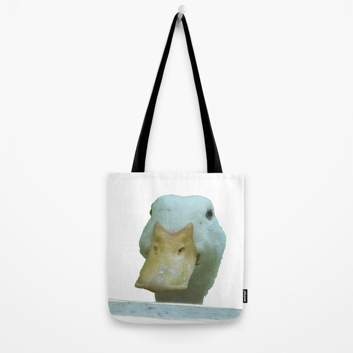 Peeking Duck Vector Tote Bag