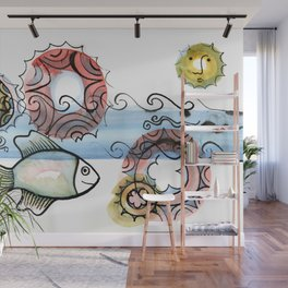 Life on the Earth - The Ocean Wall Mural