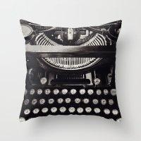 melissa smith Throw Pillows featuring Smith by inourgardentoo