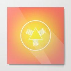 Icon No. 4. Metal Print