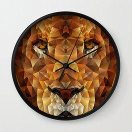Lion Glare  Wall Clock