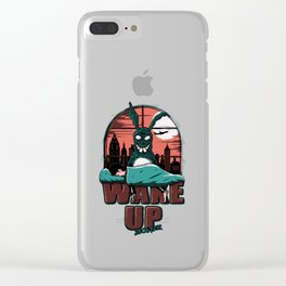 Wake up Donnie Clear iPhone Case