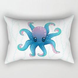 Octopus friend Rectangular Pillow