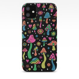 Rainbow Mushrooms iPhone Case