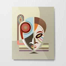 Maskermorphosis Metal Print