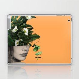 Lady Flowers Vlll Laptop & iPad Skin