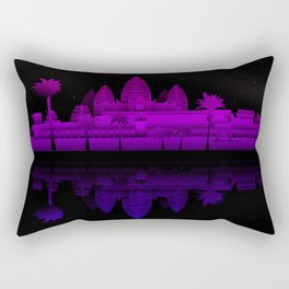 Angkor Wat Nights Rectangular Pillow