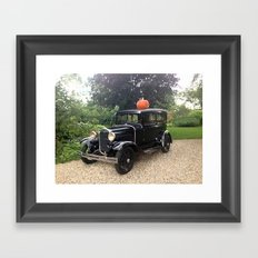 Nice Day for a Ride Framed Art Print