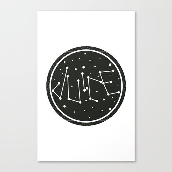 Juice Galaxy Canvas Print