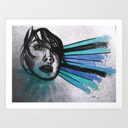 Facial Expressions Art Print