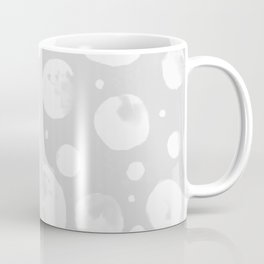 Snowballs-Gray background Coffee Mug