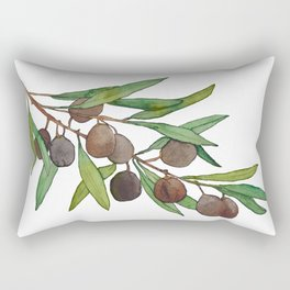 Olive leaf Rectangular Pillow