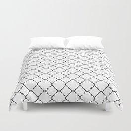 Minimalist Moroccan Duvet Cover