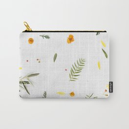 Foraged Florals Carry-All Pouch