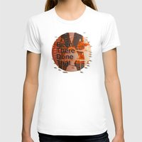 hemingway T-shirts featuring Been There Done That < The NO Series (Brown) by Wayne Edson Bryan