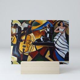 The Jazz Group Mini Art Print