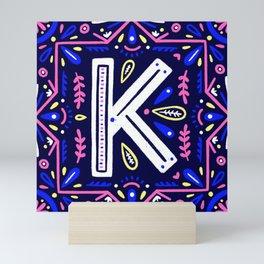 K Mini Art Print