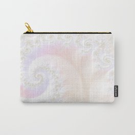 Ocean Treasure -- Mother of Pearls Mandelbrot Carry-All Pouch
