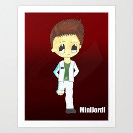 MiniJordi Art Print