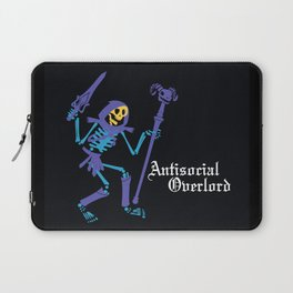 Antisocial Overlord Laptop Sleeve