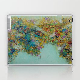Worldly Flowers Laptop & iPad Skin