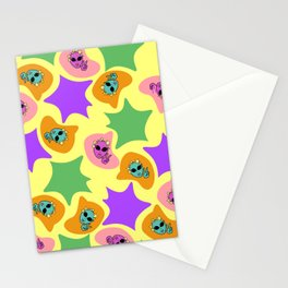 Word Project Pattern Stationery Cards